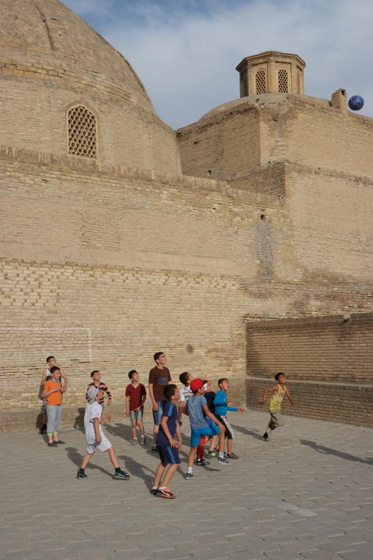 Football time #bukhara #uzbekistan