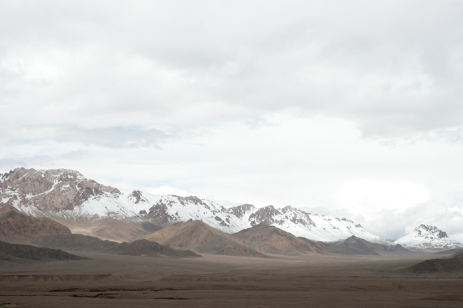 Did I tell you there are mountains on the Pamir Highway? #tajikistan