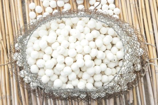 Kurut, or dried yoghurt balls #kyrgyzstan