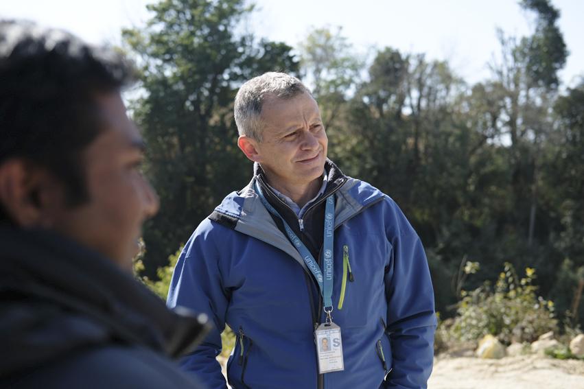 Vittorio Piovesan, Construction Specialist at UNICEF Nepal