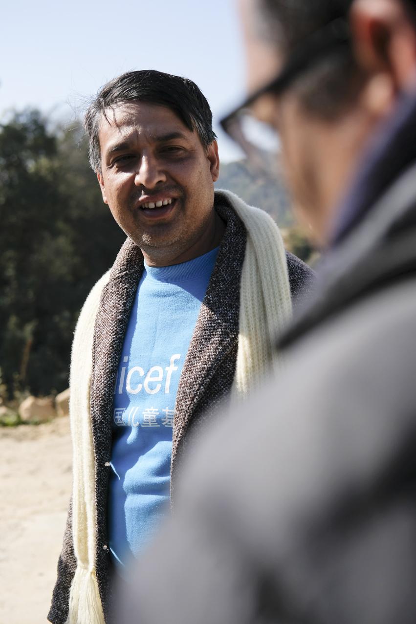 Uddhab, Coordinator-Engineer at UNICEF Nepal